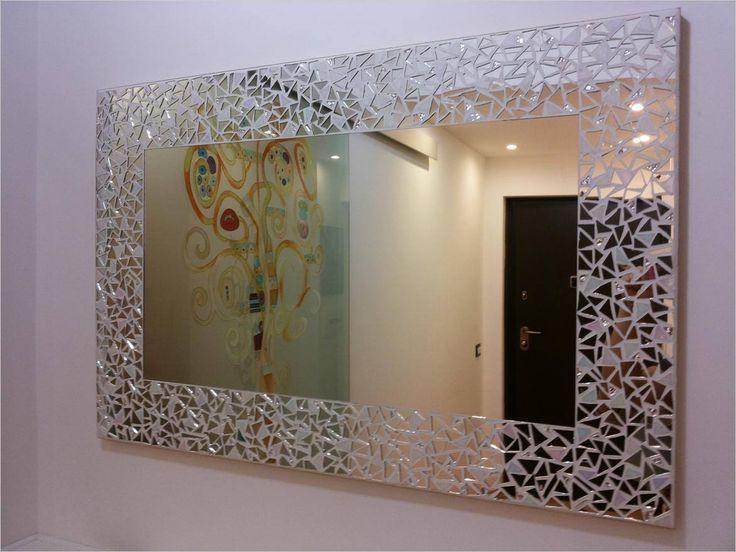 Fantastic Mosaic Mirrors Make By Hand In Italy Espejos De Pared Decorativos Espejos De Pared Vidrio En Mosaico