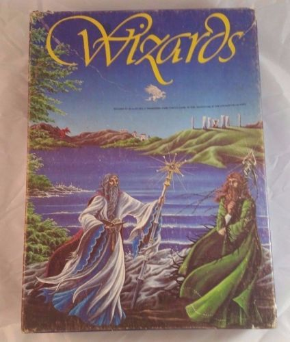 Wizards Avalon Hill Bookcase Game Epic Adventure Enchanted Islands 1982 Fantasy #BoardGames #Fantasy #Wizards #BookcaseGames #VintageGames