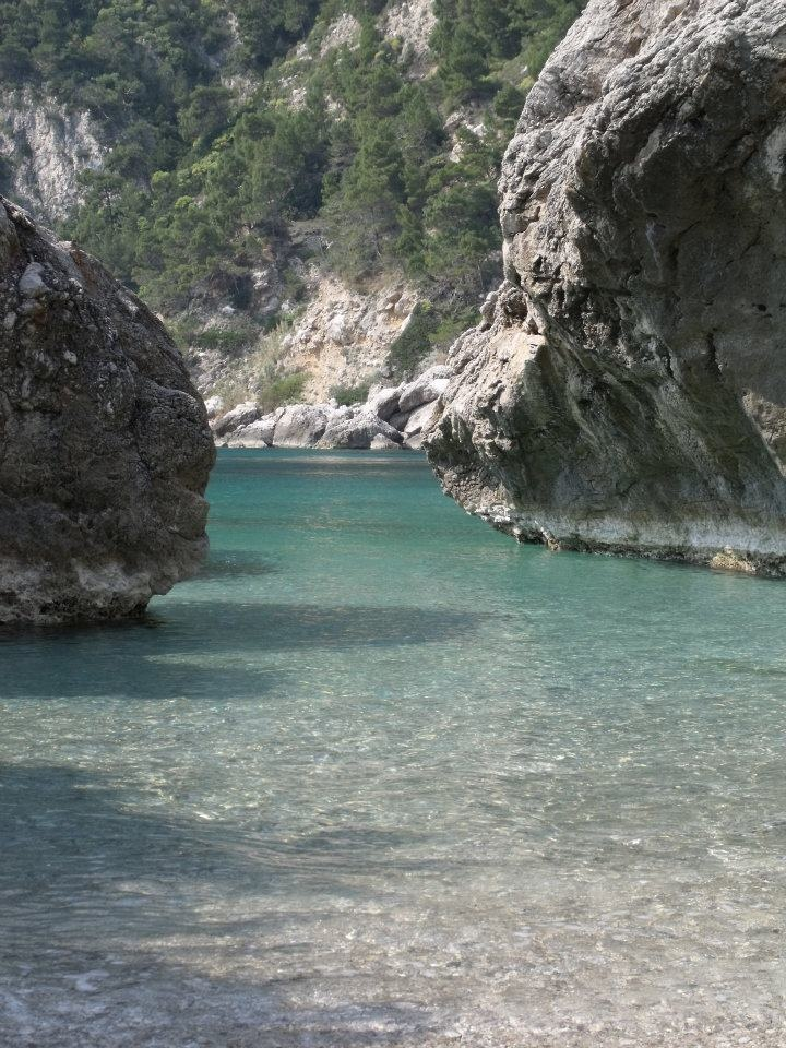 Capri, Italy...this is how I remember the water when I was in Capri in 2005 absolutely gorgeous.