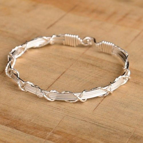 I Love You - Silver Ronaldo bracelet