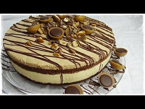 traumhafte TOFFIFEE-TORTE   Torte mit Nougat und Karamell   super e infach und ohne Gelatine! - YouTube Caramel ganache schnelle mit Karamell Bonbons