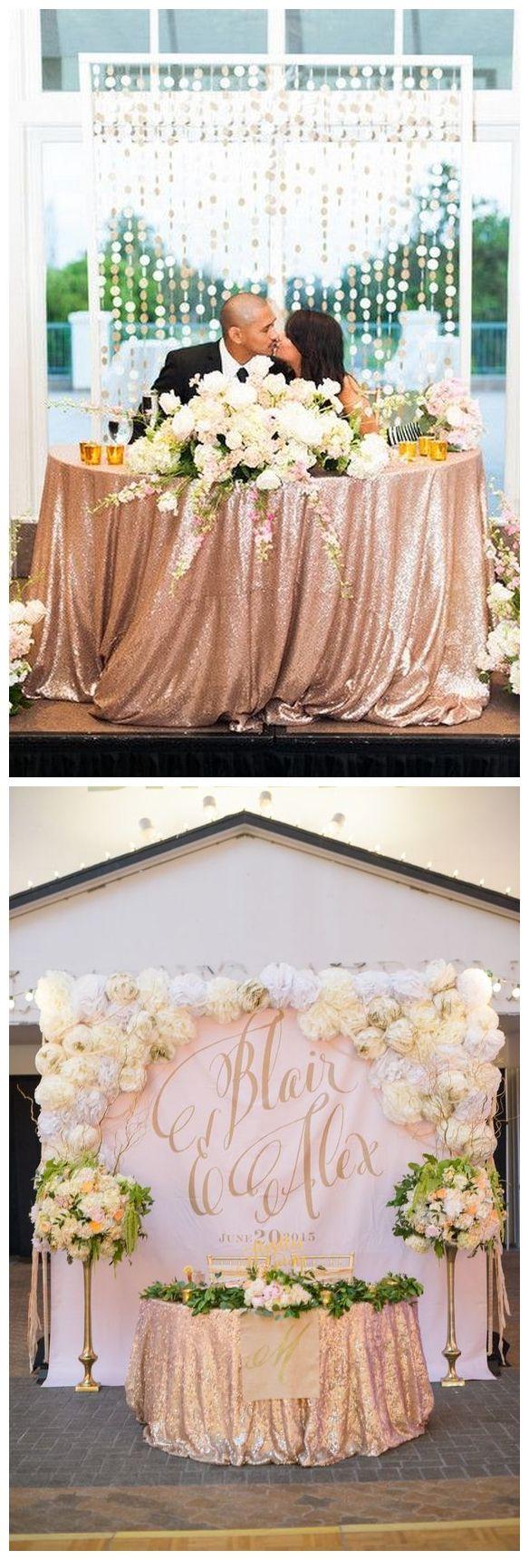40 Rose Gold Metallic Wedding Color Ideas / http://www.himisspuff.com/rose-gold-metallic-wedding-color-ideas/