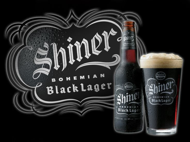 Shiner Black ~ Bohemian Black Lager, crafted according to exacting old-world standards with imported Czech Saaz, Styrians Hops and selected roasted malts, is the darkest beer we brew. Initially added to the Shiner family as our 97 Anniversary Brew, the unique and complex flavor of this rare brew found such a following among our customers that we brought it back for good!