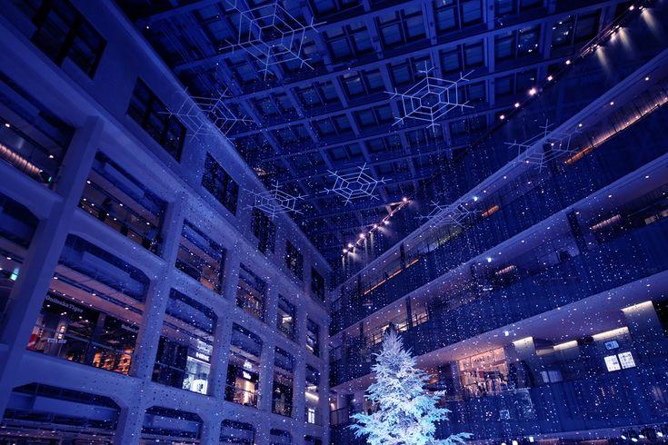 キッテ クリスマスツリー kitte_Xmas_tree (1)