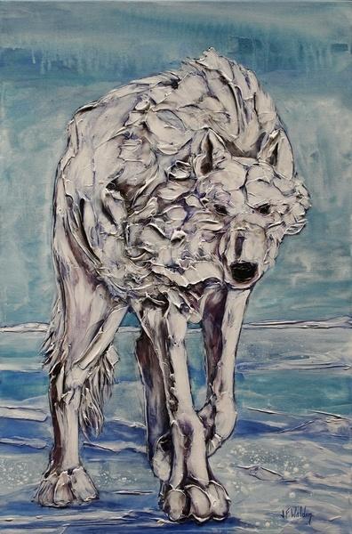 Spirit Walker ~ Canadian Artist Jennifer Walden.