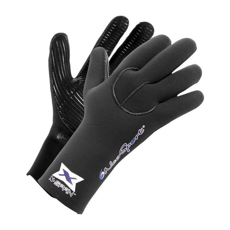 Neosport Adult XSpan 5mm Diving Gloves, Black