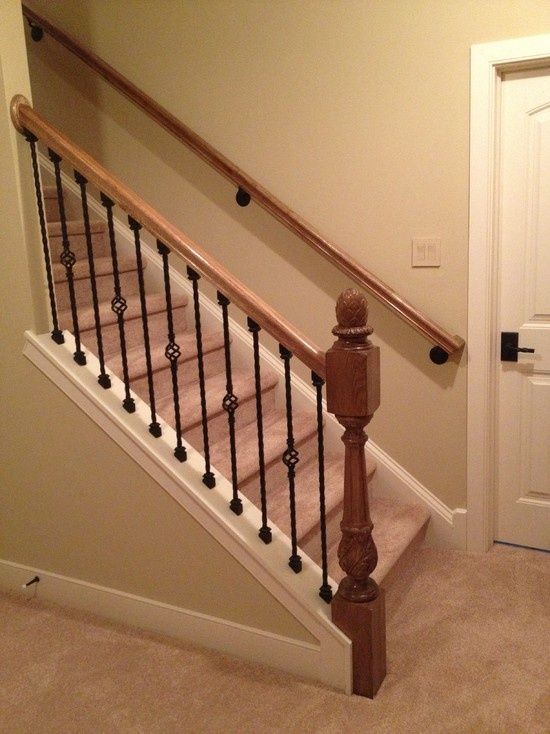 Basement Stairs Design: 14 Best Images About Basement Reno On Pinterest