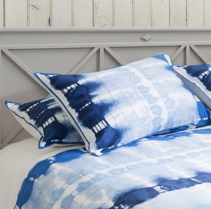 Gallery Direct Fairwater Housewife Blue Pillowcase (Pair)