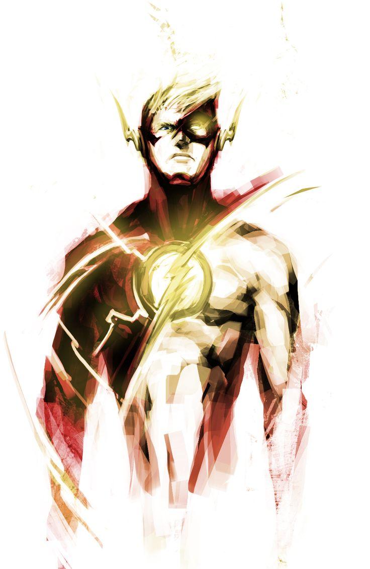 The Flash by naratani - Love this artwork, incredible!