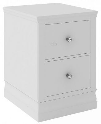 Corndell Oxford Annecy Cotton Narrow Bedside Cabinet