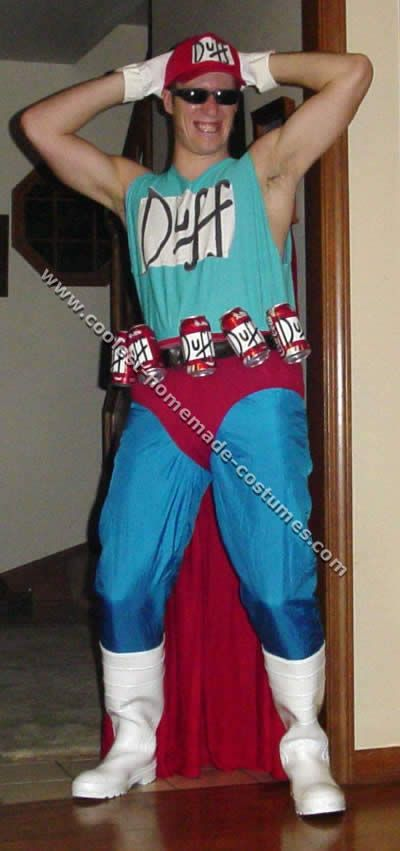 Coolest Homemade Simpsons Halloween Costumes & 21 best Duffman costume images on Pinterest | Duffman costume The ...