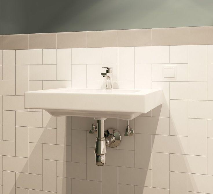 Умывальник в ванной, дизайнерский ремонт - стиль Прага