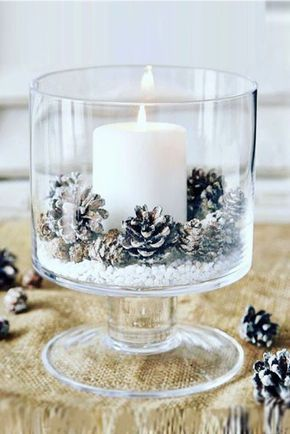 Simple Christmas Table Scape