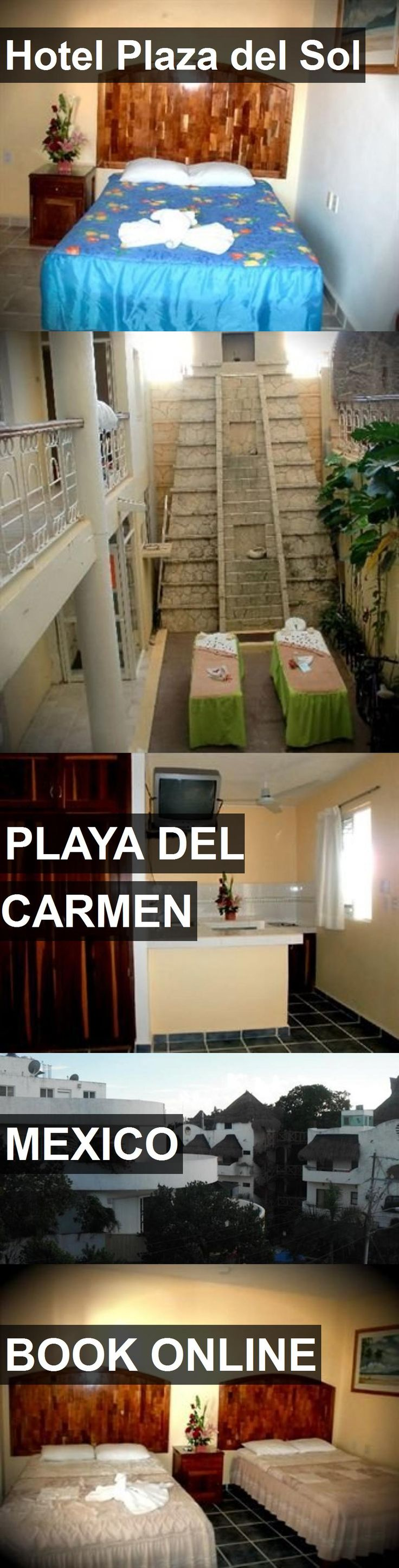 Hotel Plaza del Sol in Playa Del Carmen, Mexico. For more information, photos, reviews and best prices please follow the link. #Mexico #PlayaDelCarmen #travel #vacation #hotel