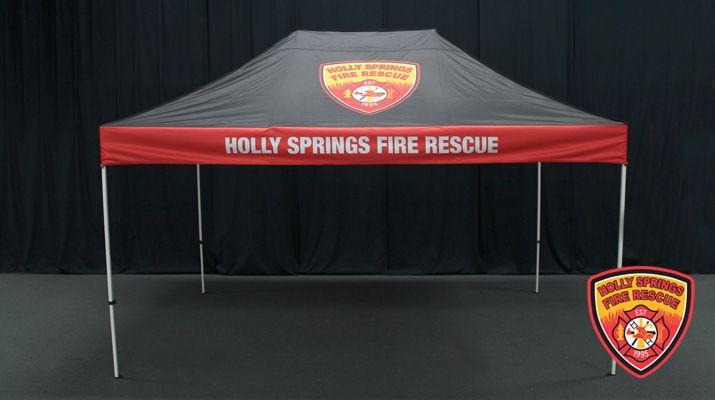 Holly Springs Fire Rescue Custom 10x15 Festival Http