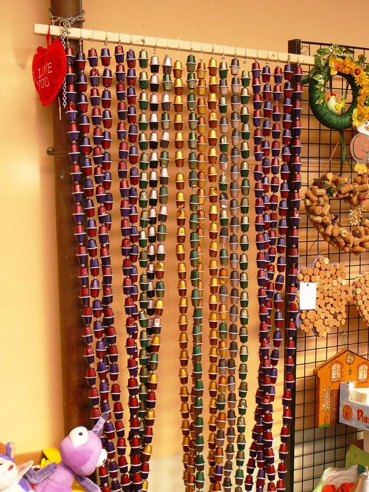 Les 49 meilleures images du tableau avec des capsules nespresso sur pinterest capsule de caf - Decoration avec capsule nespresso ...