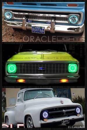 "7"" sealed beam headlights (Round) / Custom Industries"