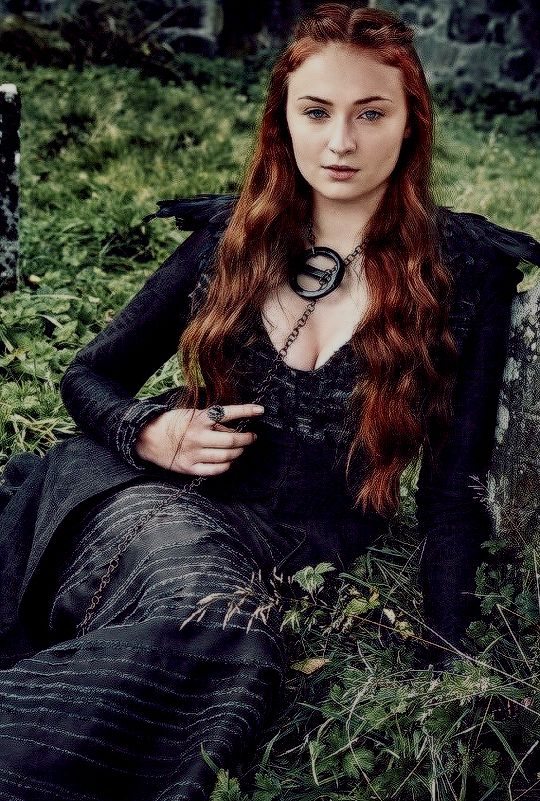 Sansa. The go through and get through champion.