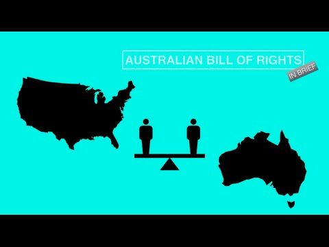 Ohh! Information about the Australian Bill of Rights - In Brief - YouTube