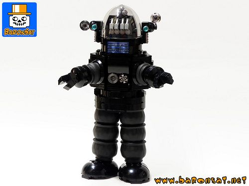 Lego Robby the Robot