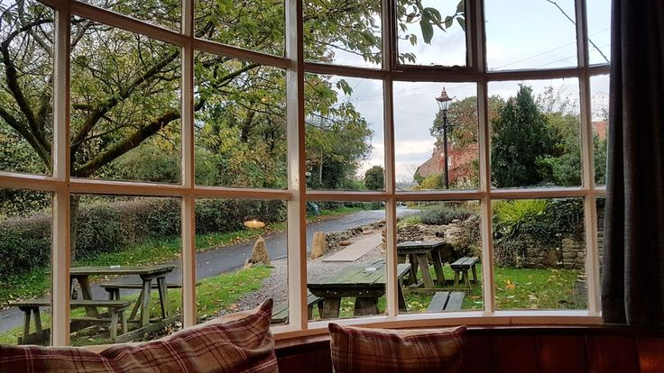 Village inn: The Black Swan has been keeping Oldstead refreshed since the 16th century. It's no longer a traditional village pub, although at least one local pops in for a daily drink.