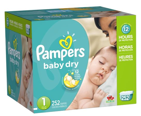 Pampers Diapers Size 1 Only 13¢ each! Shipped FREE! - TrueCouponing