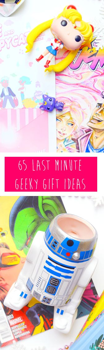Still #Christmas shopping for the geek in your life? These 65 ideas are bound to give some #inspiration!