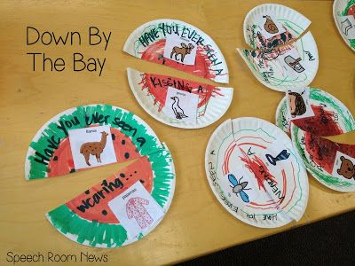 Speech Room News: Down By the Bay Crafts