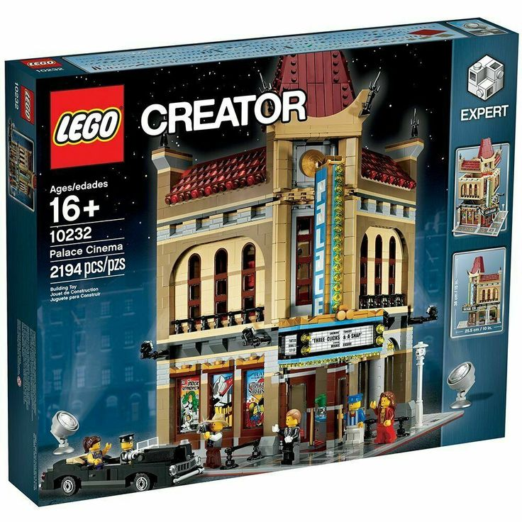 Details about LEGO Creator Palace Cinema Set 10232 NEW