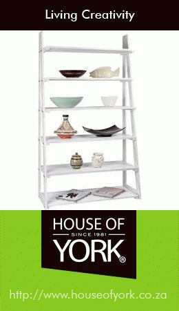 House of York's A-Frame Racking has incredible quality and is made of solid wood. Invest in a white-wash one this winter - perfect to match a grey accent wall! #decor #shelving. Buy it here: http://www.houseofyork.co.za/product/a-frame-racking