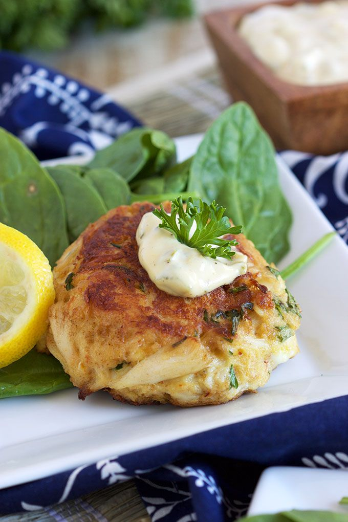 Easy to make and light on fillers, these are the Very Best Crab Cakes Recipe! Fresh lump crab meat is turned into the most amazing Maryland crab cake ever!