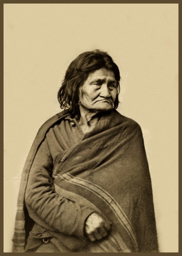 *Old Bets, a Sioux woman 120 years old, will long be remembered with gratitude by many of the Minnesota Captives for her kindness to them while among the Sioux in 1862. Photo from an Albumen print; Carte-de-visite. William Blackmore Coll. Album 9.