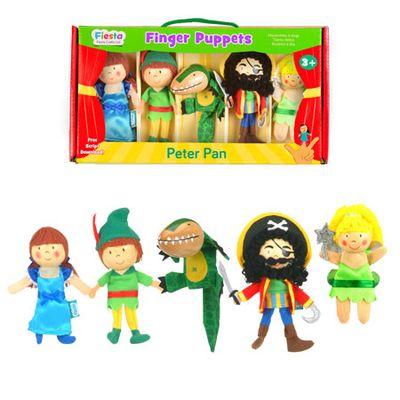 Peter Pan - Finger Puppets