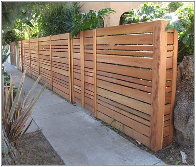 Lowes Wood Fencing - Google Search