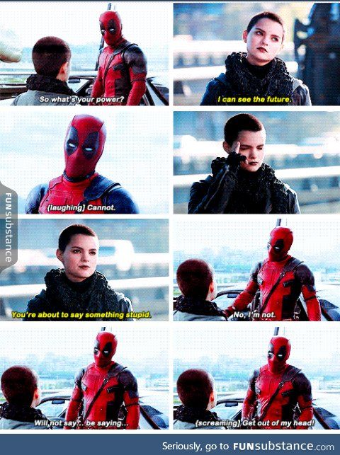 I relate to Deadpool far too much