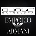 La ropa mas actual de Custo y la moda mas chic de Emporio Armani, solo en www.outletfactory.es