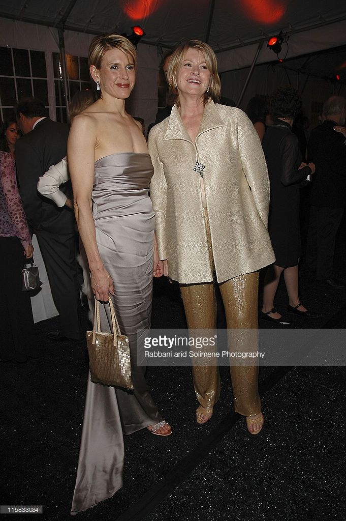 Alexis Stewart and Martha Stewart during Cooper-Hewitt Museum's Sixth Annual National Design Awards Gala - October 20, 2005 at Cooper Hewitt Museum in New York City, New York, United States.
