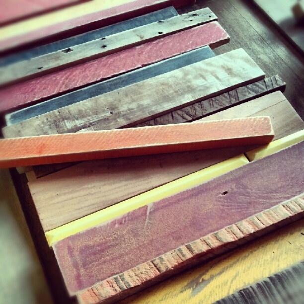 madera y color