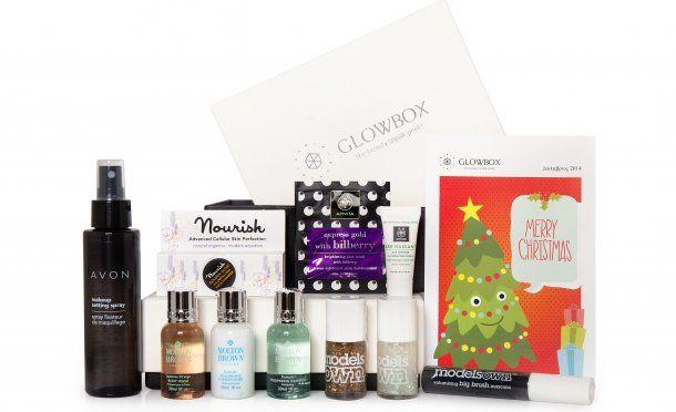 December #Glowbox! #Avon #moltonbrown #modelsown #nourishskincare #apivita