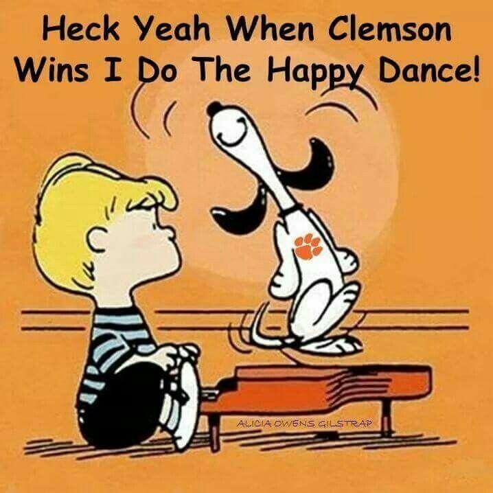 When Clemson wins!