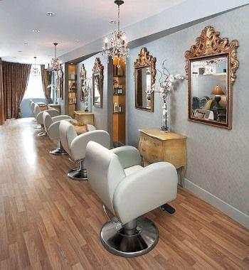 Glam Hair, Cool Chairs, Hair Studio, Salon Design, Hair Salons, Salon Ideas,  The Chair, Yorkville Toronto, Tall Vases