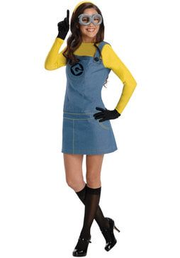 Sexy Minion CostumeDisney & Cartoon Costumes