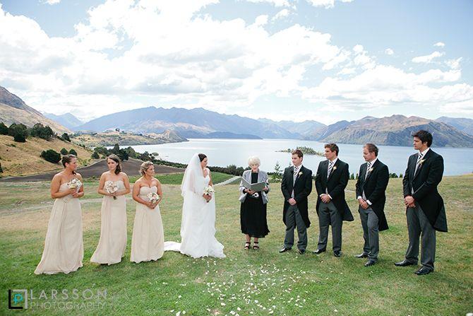 Rippon wedding ceremony