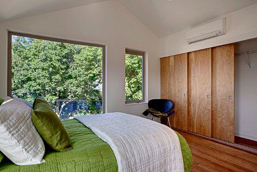 Studio Hvac Options Central Heat Air Vs Ductless Mini Split Addicted 2 Decorating In 2021 Modern Bedroom Ductless Mini Split Home