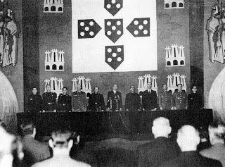 Tronco-em-Flor: Mocidade Portuguesa. II Congresso Nacional (1956). Sessão de Encerramento da Fase Nacional - Discursos.