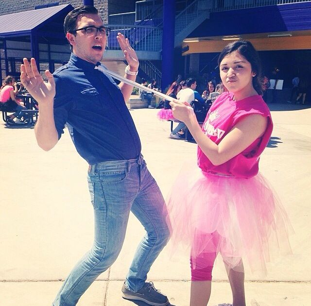 Tutus v. Ties Couples Outfits