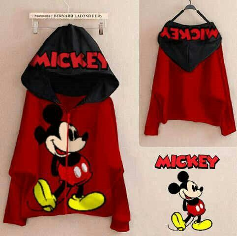 Jaket mickey matt spandek fit L @50