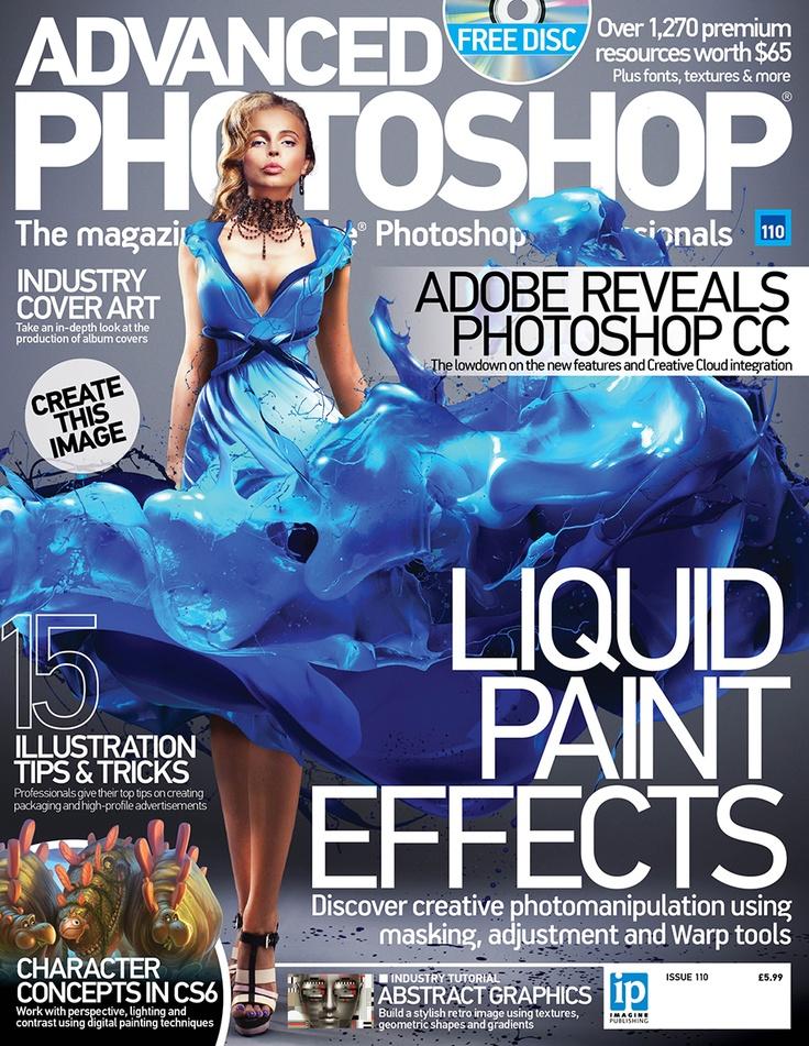 Pin by Advanced Photoshop on Magazine covers | Pinterest | Photoshop, Advanced photoshop and Photoshop magazine