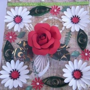Cards ,Crafts ,Kids Projects: Handmade Flower Tutorials