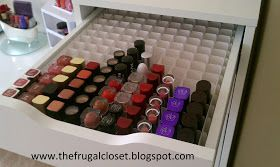 The Frugal Closet: The IKEA Alex Storage